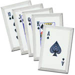 Azan Royal Throwing Card Spades Set of 5 Gambit