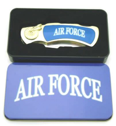 Air Force Pocket Knife in Metal Box KPK4040AF