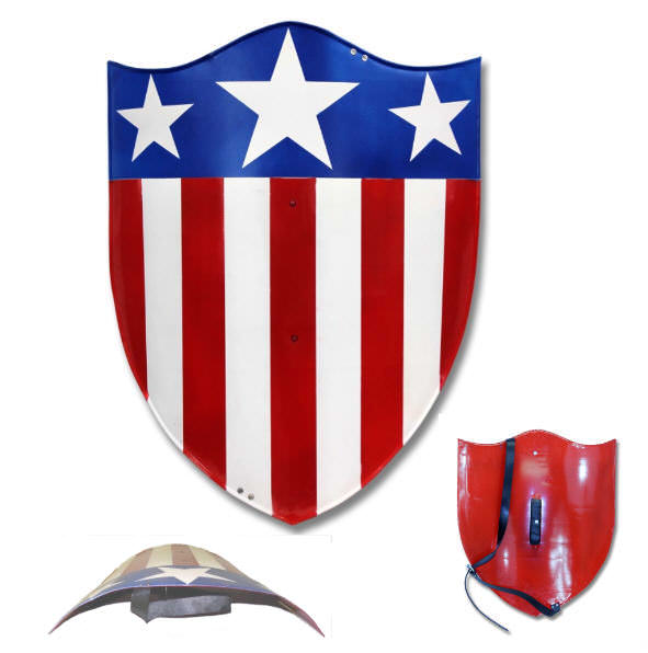 All Steel Full Color Fantasy Shield CAS0210