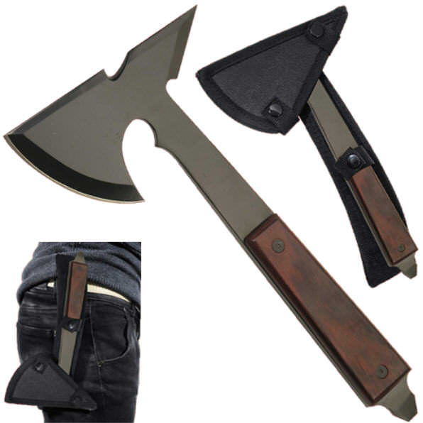 Battle / Throwing / Tactical Full Tang Axe AX9012