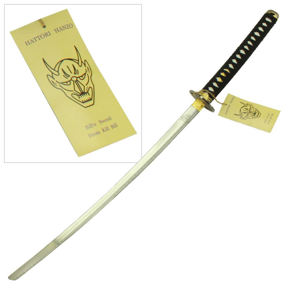 Bill's Demon Katana by Hattori Hanzo - Kill Bill Cinema Replica