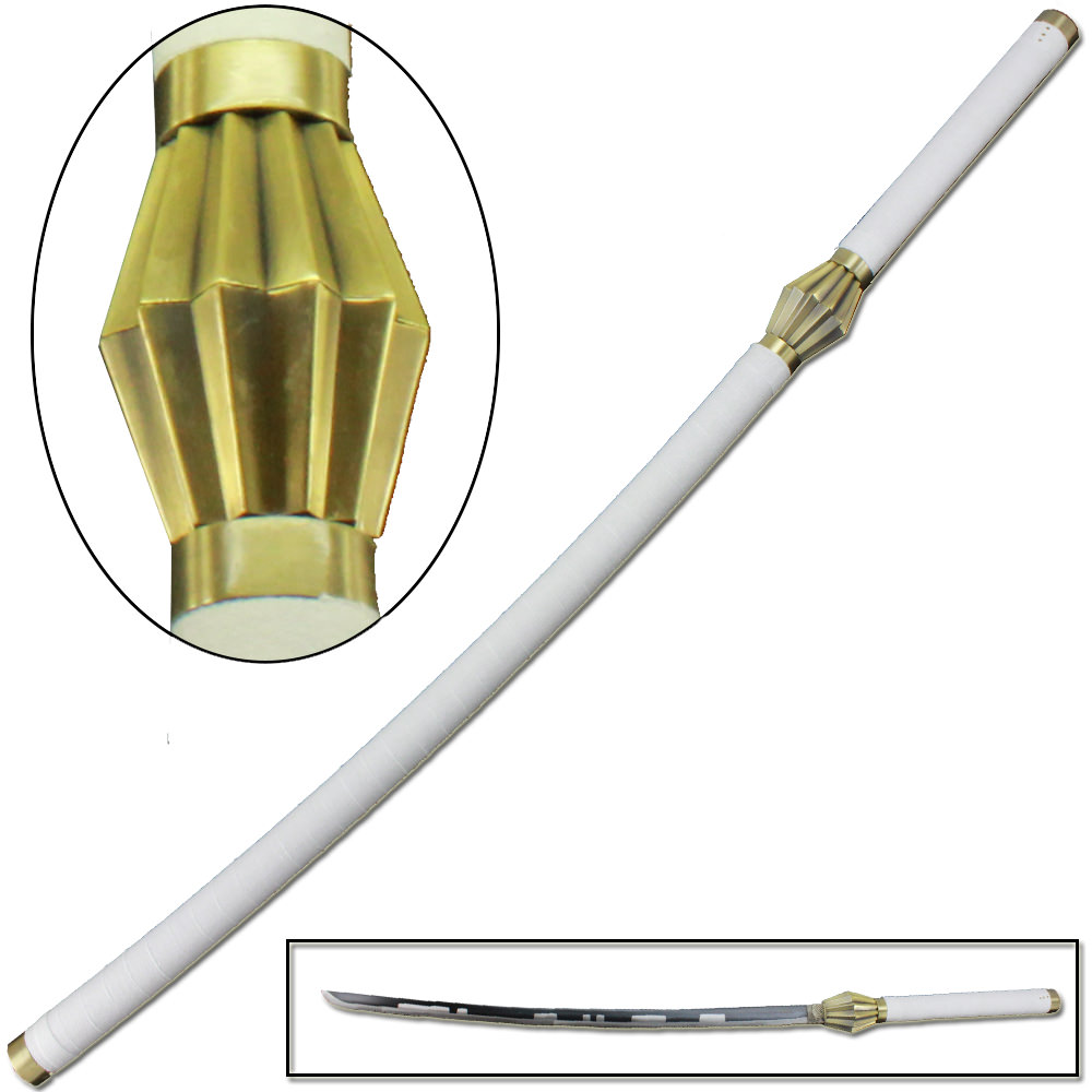 Bleach Anime Kenpachi Zaraki Lawless Serrated Sword