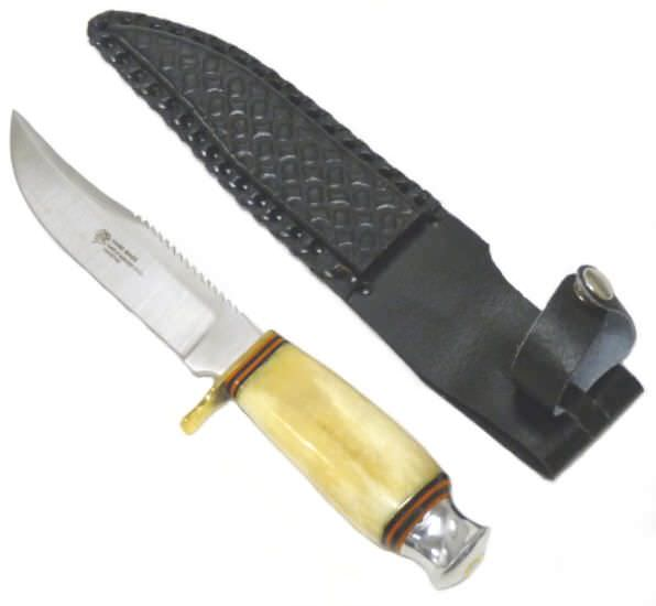 Bone Handle Hunting Knife KA295