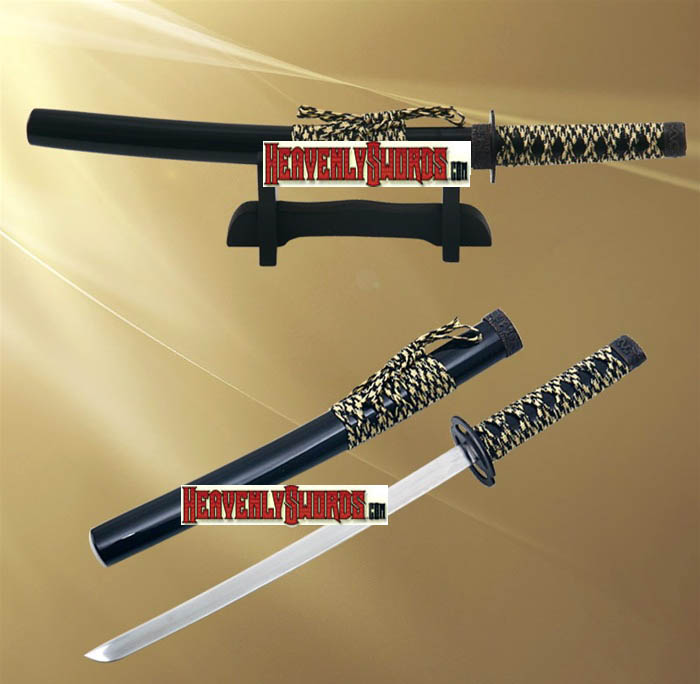 Musashi Warrior Samurai Katana Sword Letter Opener With Stand 12""