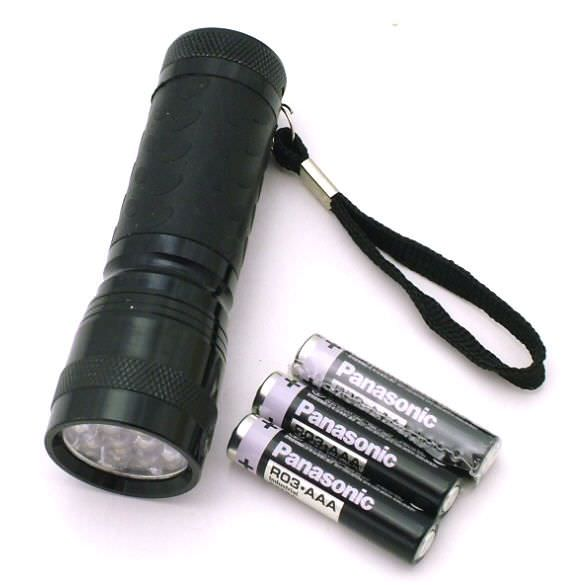 14 Bulb Led Flashlight FL30714B