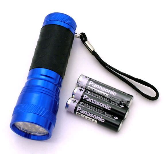 14 Bulb Led Flashlight FL30714BL