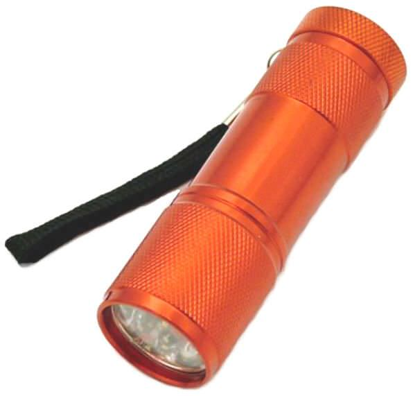 9 Bulb Led Flashlight FL307R