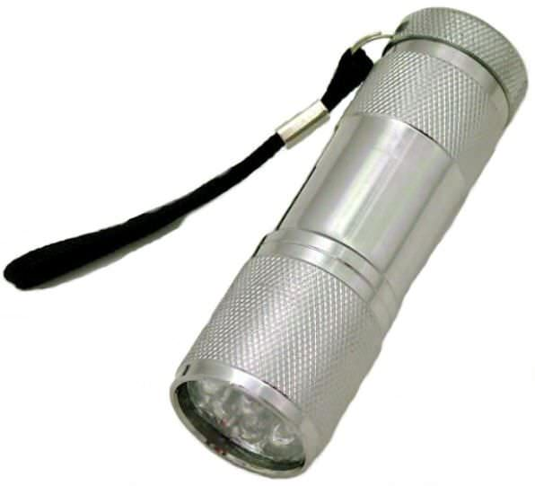 9 Bulb Led Flashlight FL307T