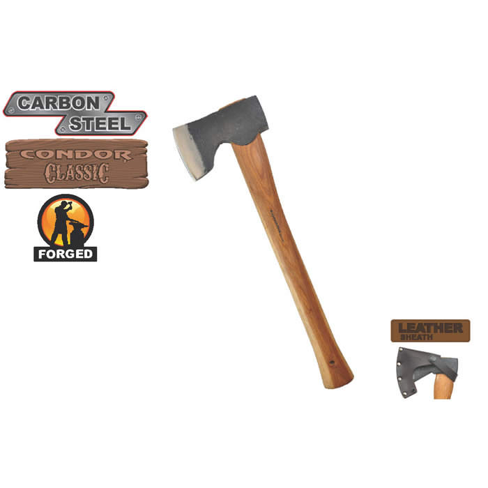 Condor Woodworker Axe 18""