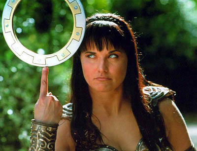 "Xena Warrior Princess 12"" Chakram Throwing Disc"