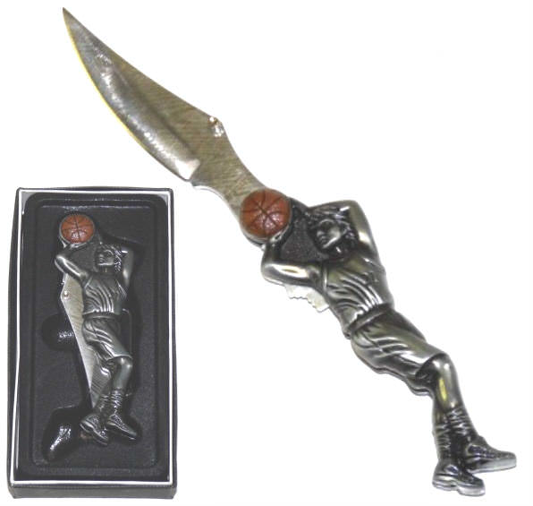 Basketball Player Collector Pocket Knife KA921
