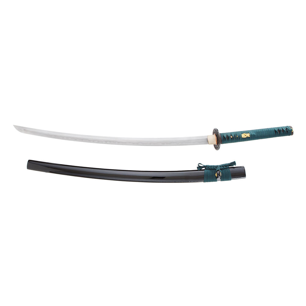 Competition Cutting Katana Folded Steel