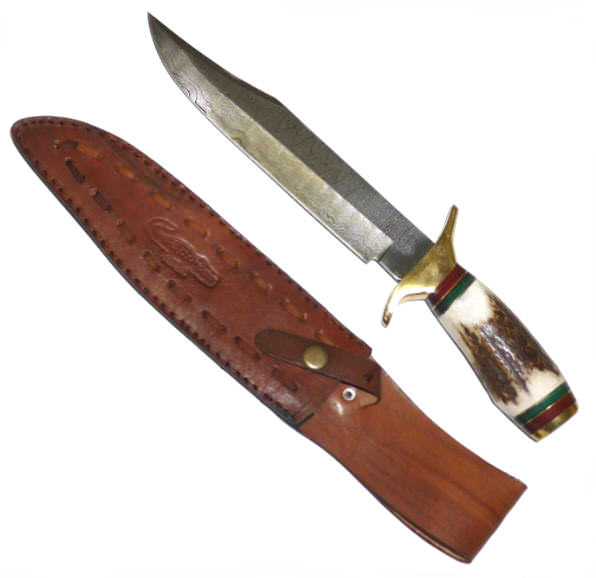 DAMSCUS Bowie Hunting Knife DM1032