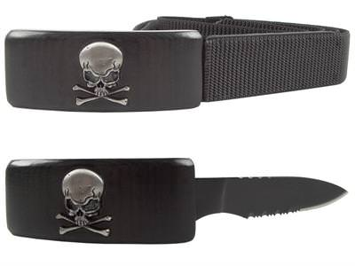 Dan Valois Skull Belt Knife