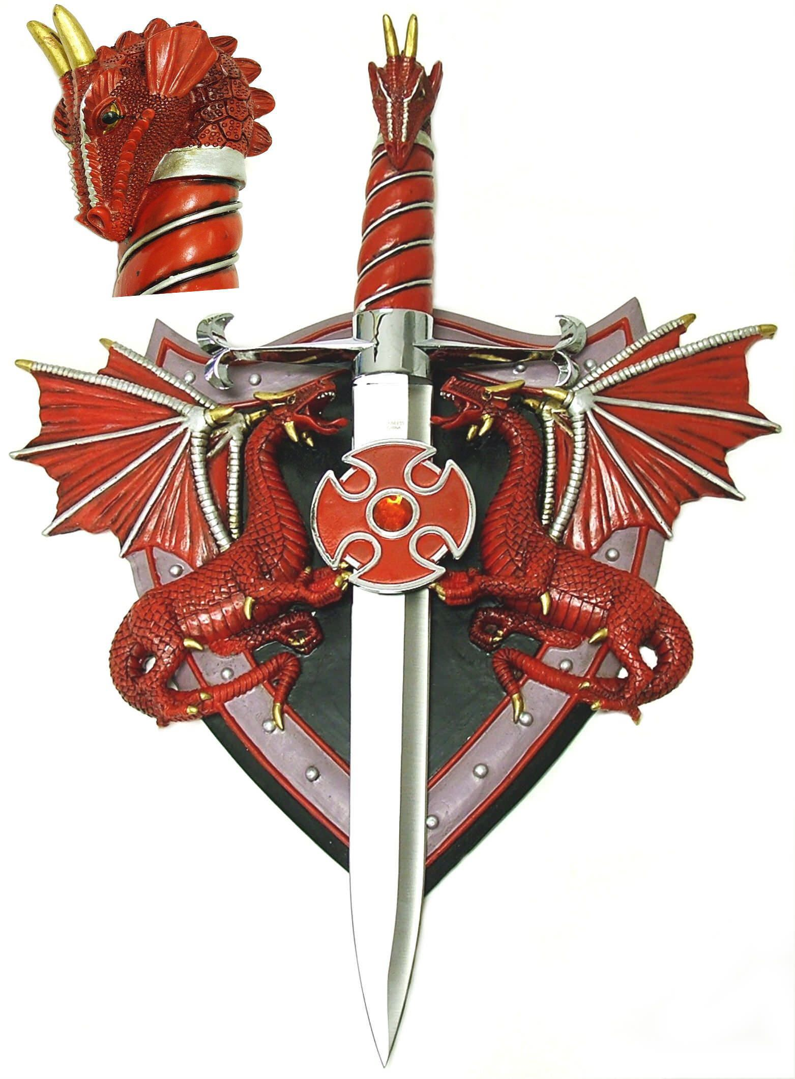 Dragon Sword Shield / Plaque KS5838