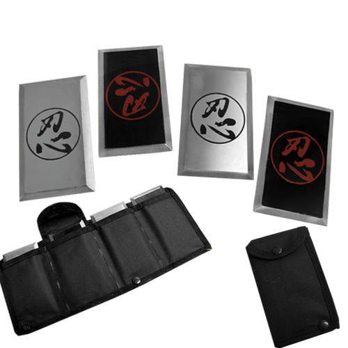 Naruto Anime Deluxe Metal Card Set