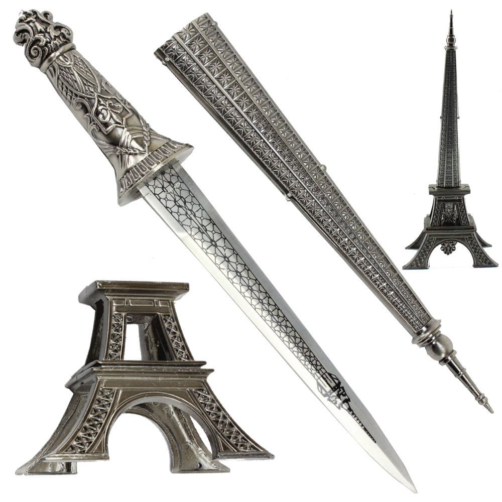 Eiffel Tower French Table Stand Hidden Dagger