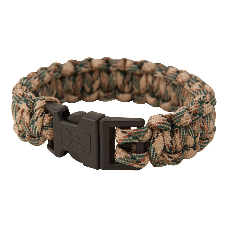 Elite Forces Paracord Bracelet Tan Camo Small