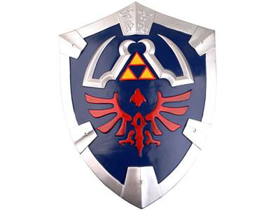 Link's Skyward Sword Shield Legend of Zelda (Metal) 21 1/2