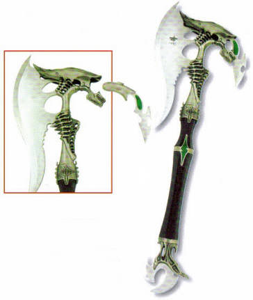 Predator Axe with hidden knife 20 1/2""