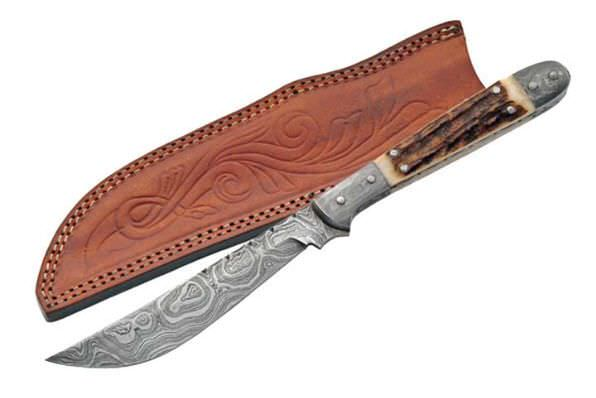 FULL TANG Real DAMASCUS steel DM1024