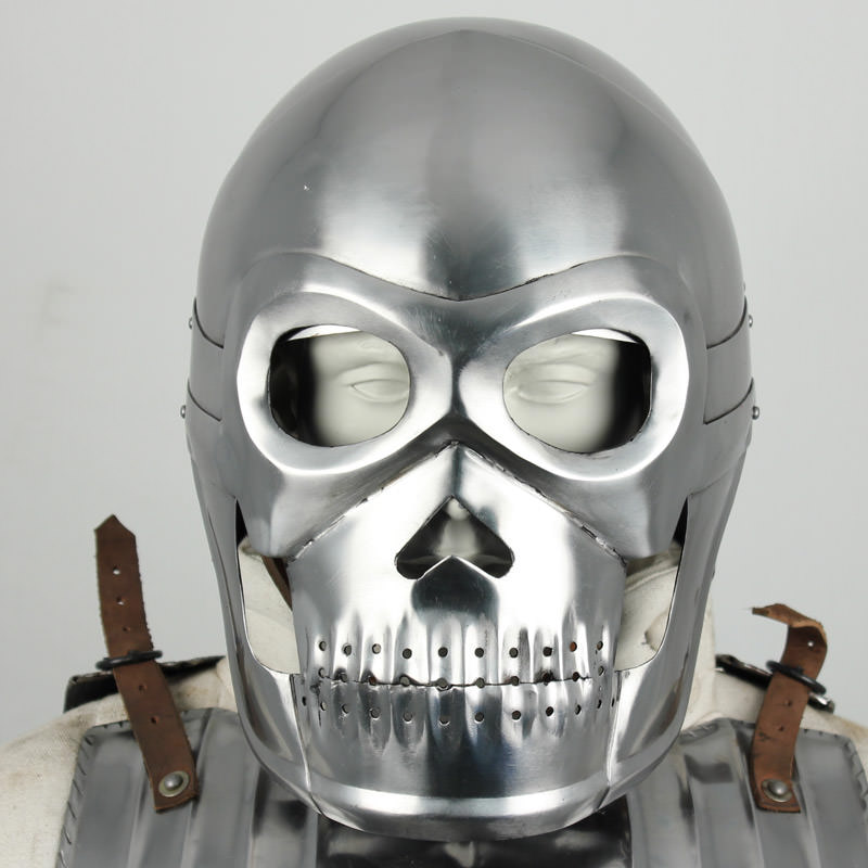 Fantasy Knight Skull Helmet 