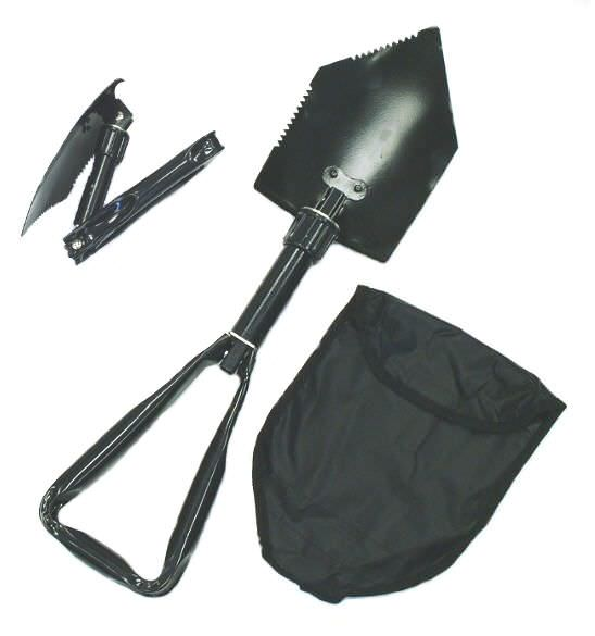 Folding Shovel & Case 8791FSP