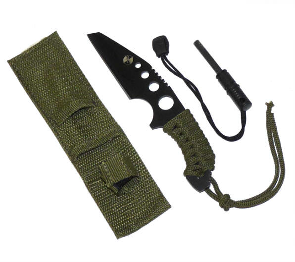 Full Tang Survival Knife & Fire Starter TK0615-70