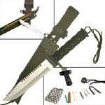 """Hunting Survival Knife with Sheath 14"""""""