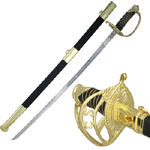 C.S.A. CONFEDERATE OFFICERS SABER 37&quot;