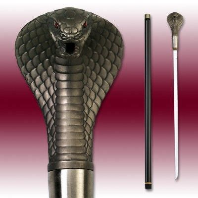 Cobra Strike Sword Cane 35""