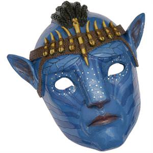 Avatar- Jake Tribal Battle Mask Pandora Creature