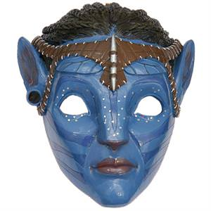 Avatar - Pandora Blue Tribal Mask Neytiri