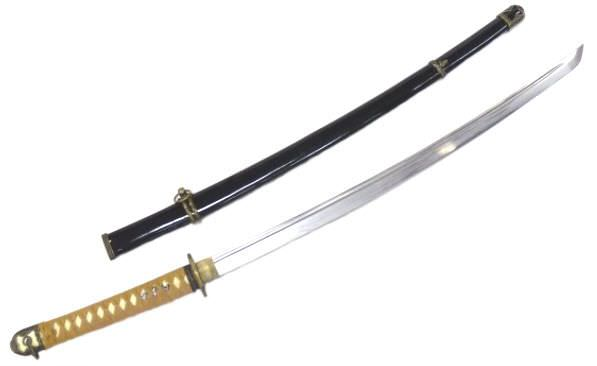 Hand Forged Carbon Steel Katana SS001BK
