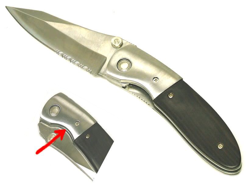 Hidden Release A O Knife SP082-40BW