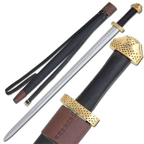 Viking 9th Century Handcrafted Steel Functional Sword 38""