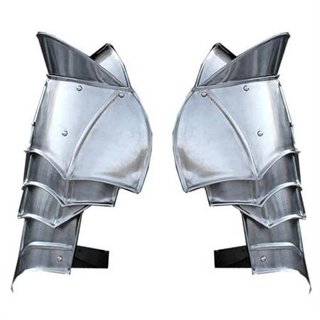 Steel Warrior Pauldron Medieval Shoulder Armor Set (of 2)