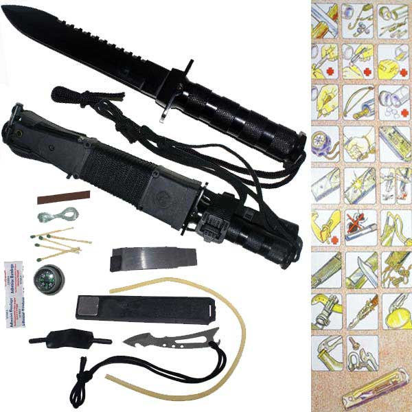 Jungle King Survival Knife H006