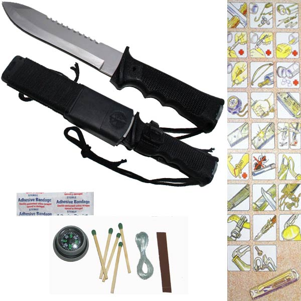 Jungle King Survival Knife H007