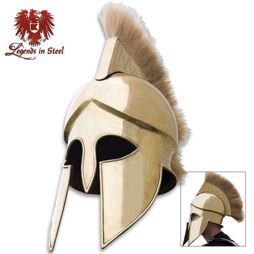 Corinthian Brass Guard Helmet