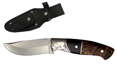 Hunting Knife with Sheath 8""