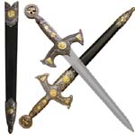 Knights Templar Dagger 22&quot;