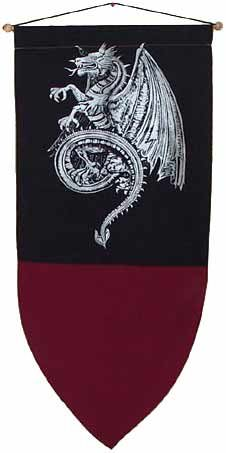Celtic Dragon Banner 48""