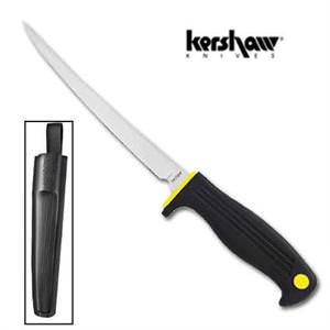 """Kershaw Fillet Knife and Sheath 14.5"""""""