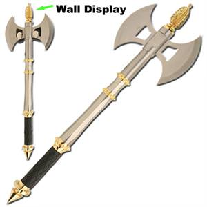 Ancient Rome Warrior Axe and wall display 22""