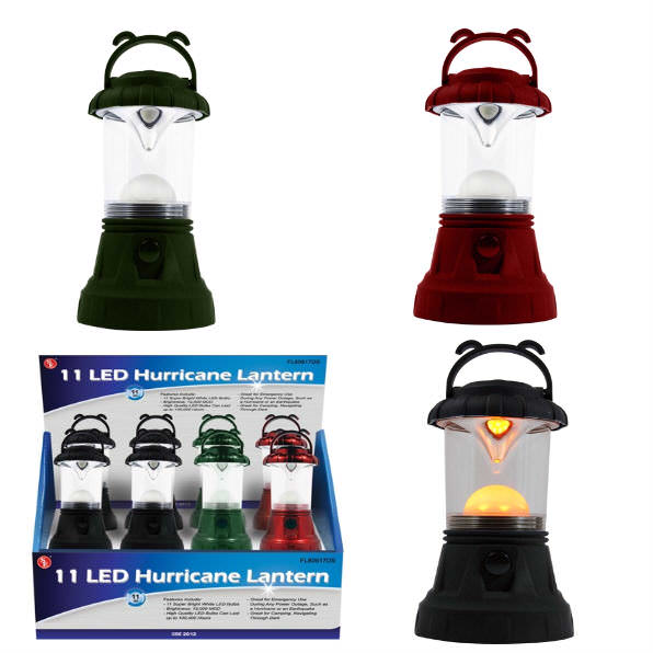 LED Hurricane Lantern 12 Bulb 4109339
