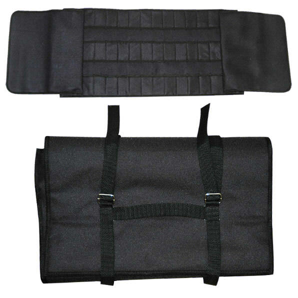 Large Black Nylon 36 Knife Case for 36 Knives NY097