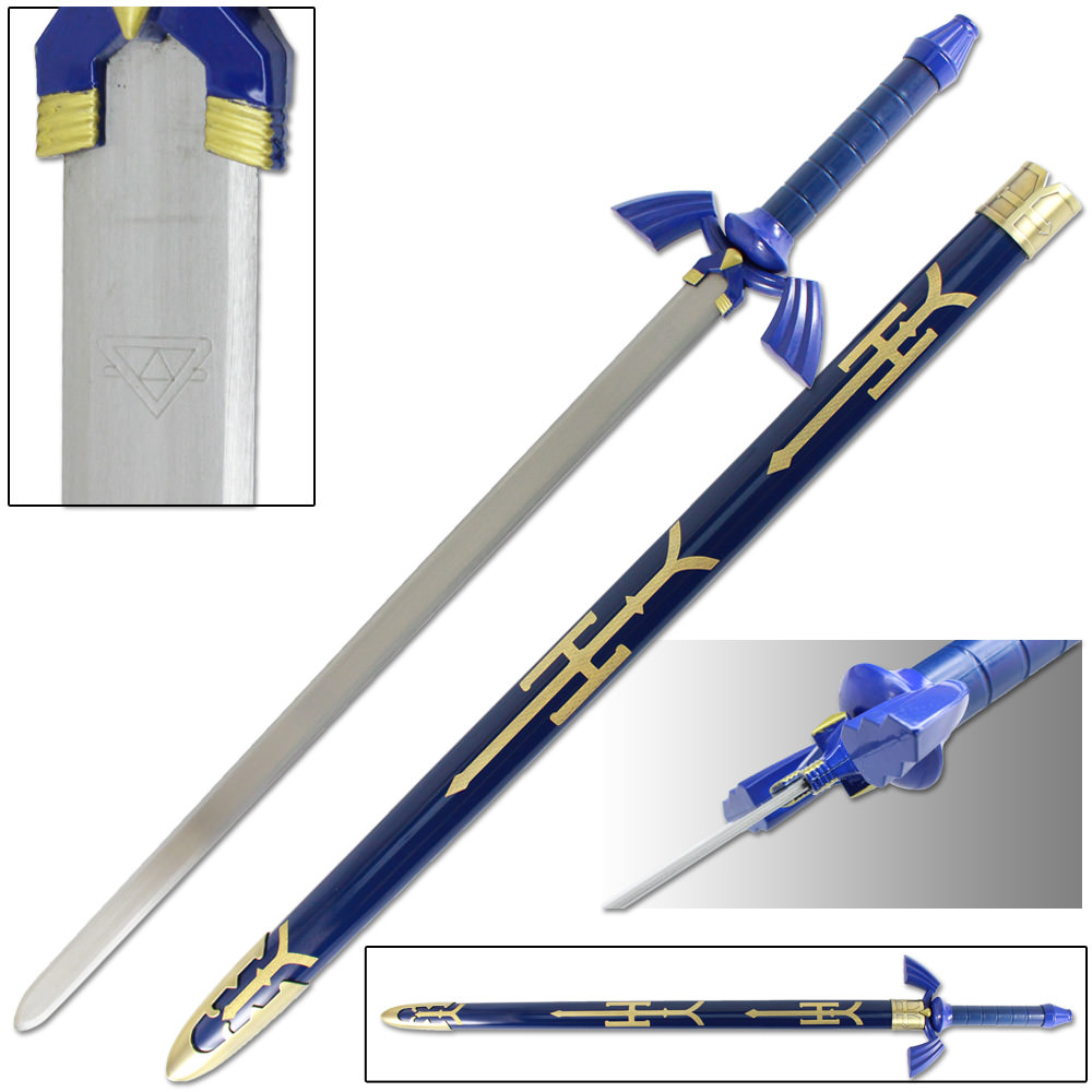 Legend of Zelda Master Sword w/ Scabbard