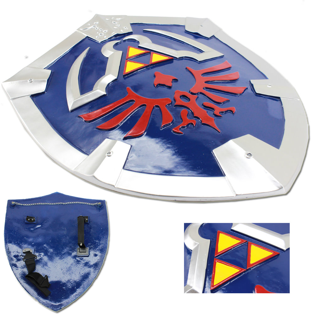 Legend of Zelda Twilight Princess Triforce Shield