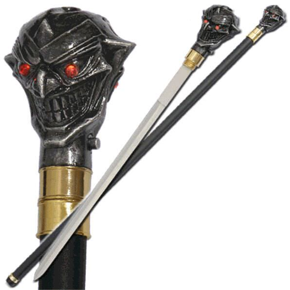 Lighted Joker Sword Cane SW1103CB